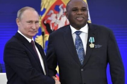Putin honours Afreximbank President with Russian National Award